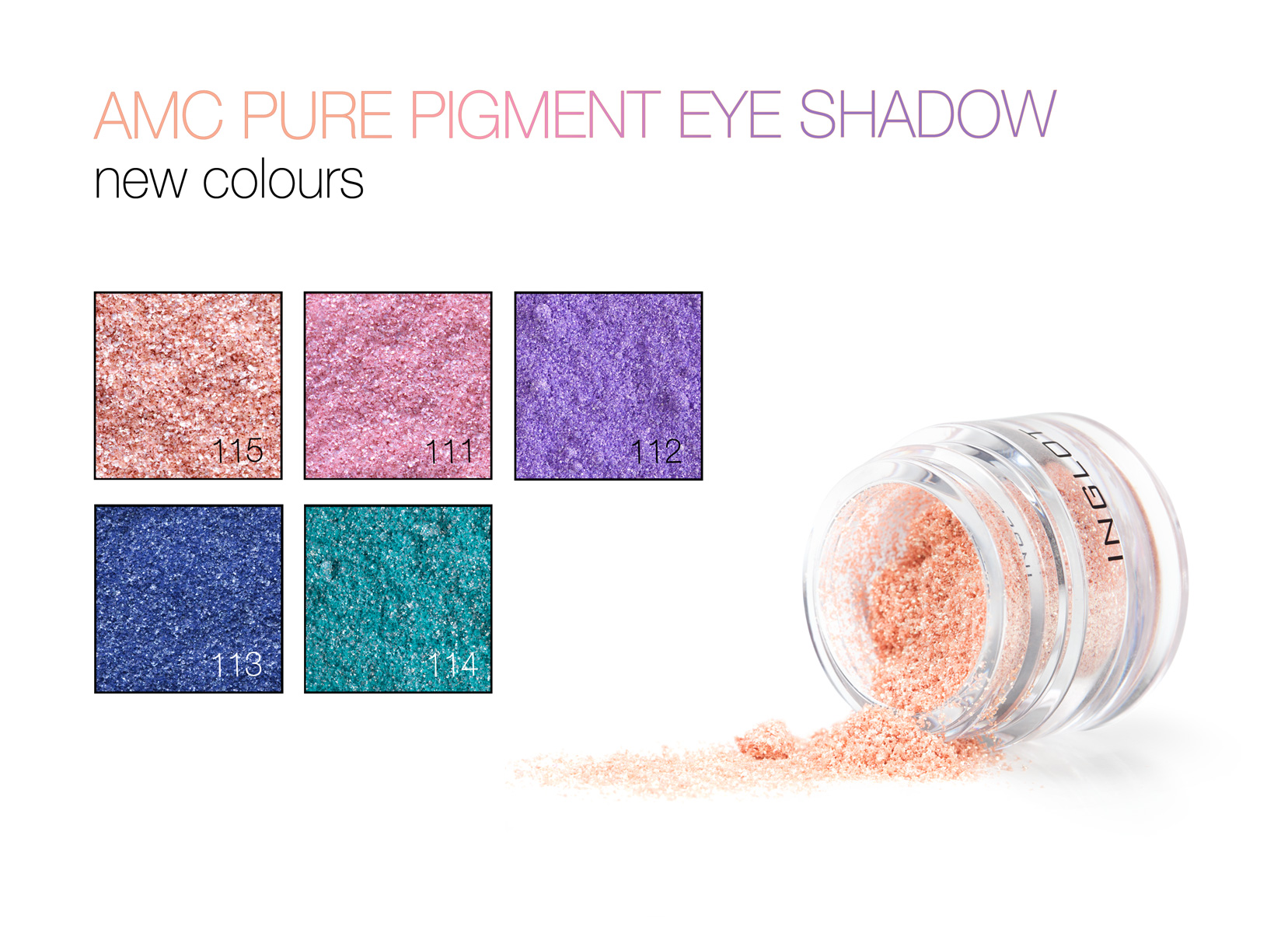 AMC Pure Pigment Eye Shadows to create an interstellar look for spring