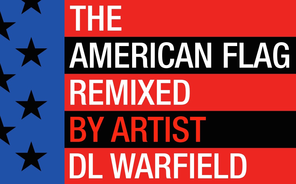 American Flag Remixed by DL Warfield