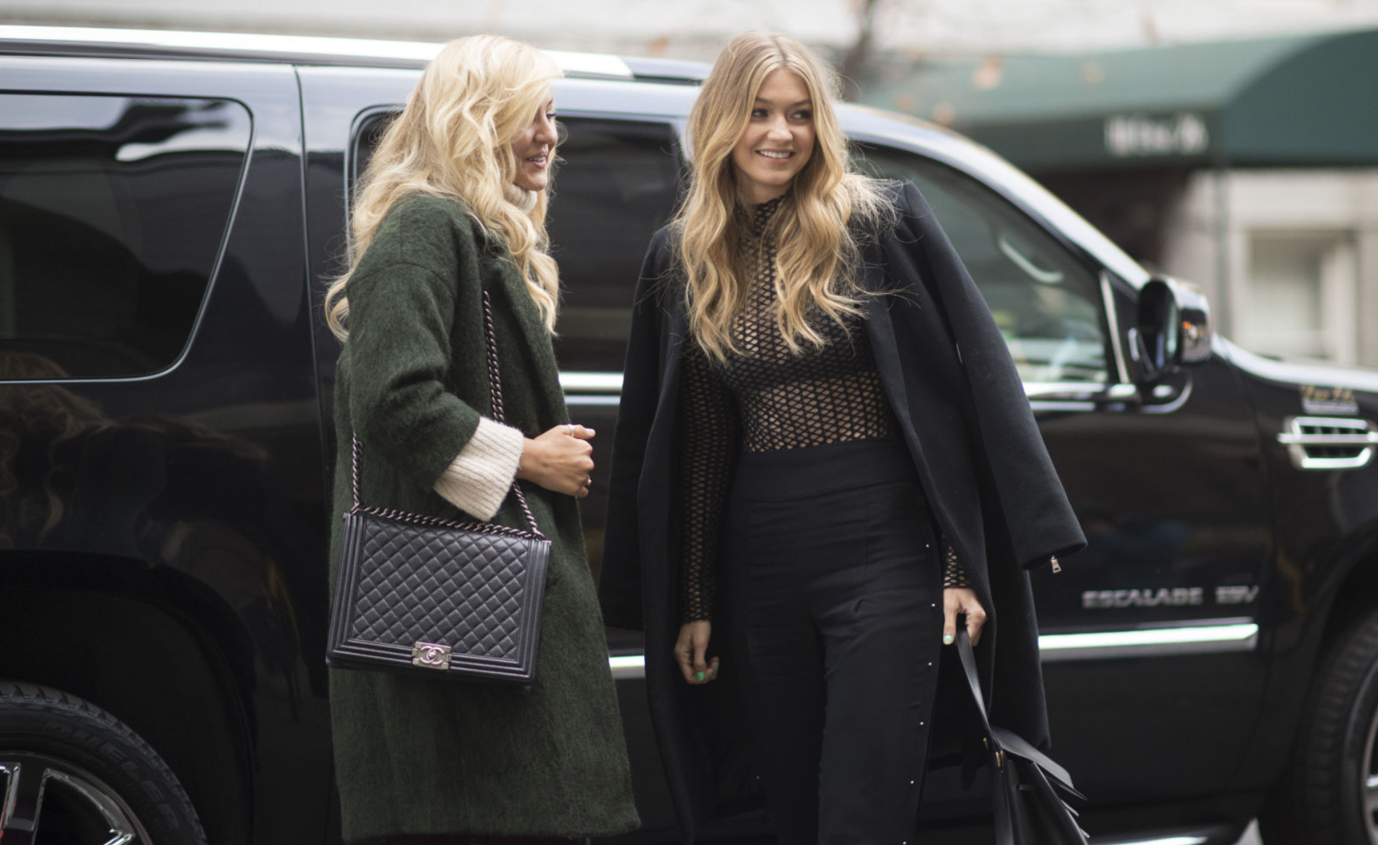 Models Off Duty: Angels Before The Victoria's Secret Show