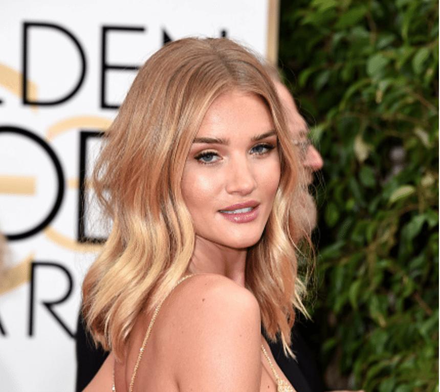 Steal Rosie's Golden Globe Beauty Look