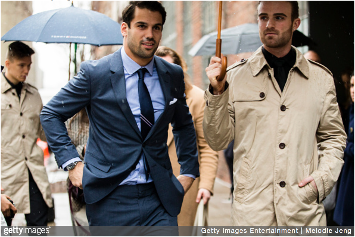 What To Wear Today: NYFWM Street Style