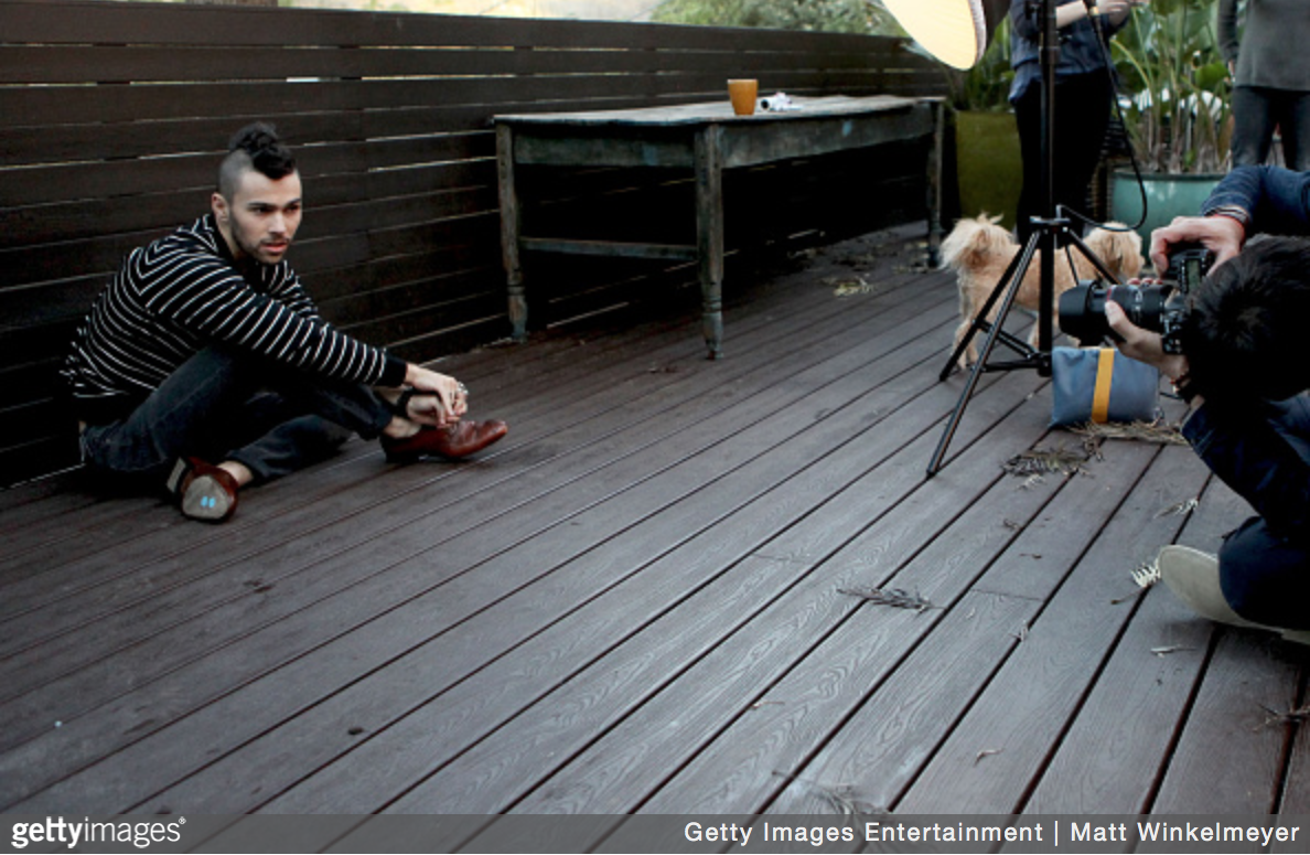 Behind The Scenes Shoot With Max Schneider For LAPALME Magazine