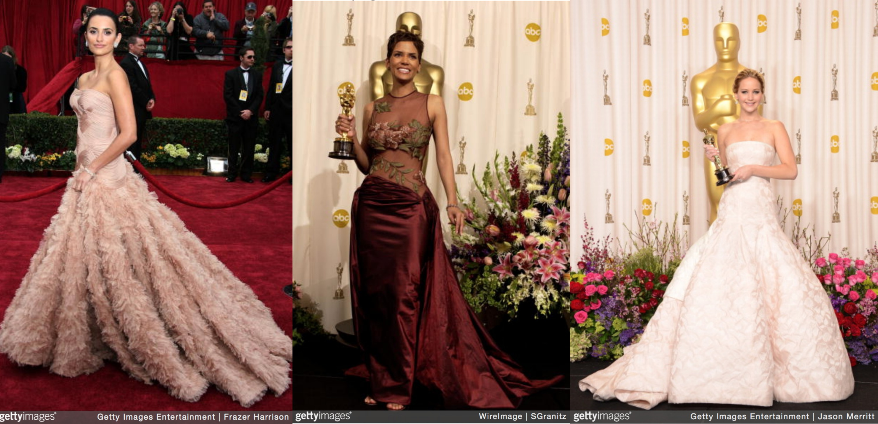 Memorable Red Carpet Moments from The Academy Awards