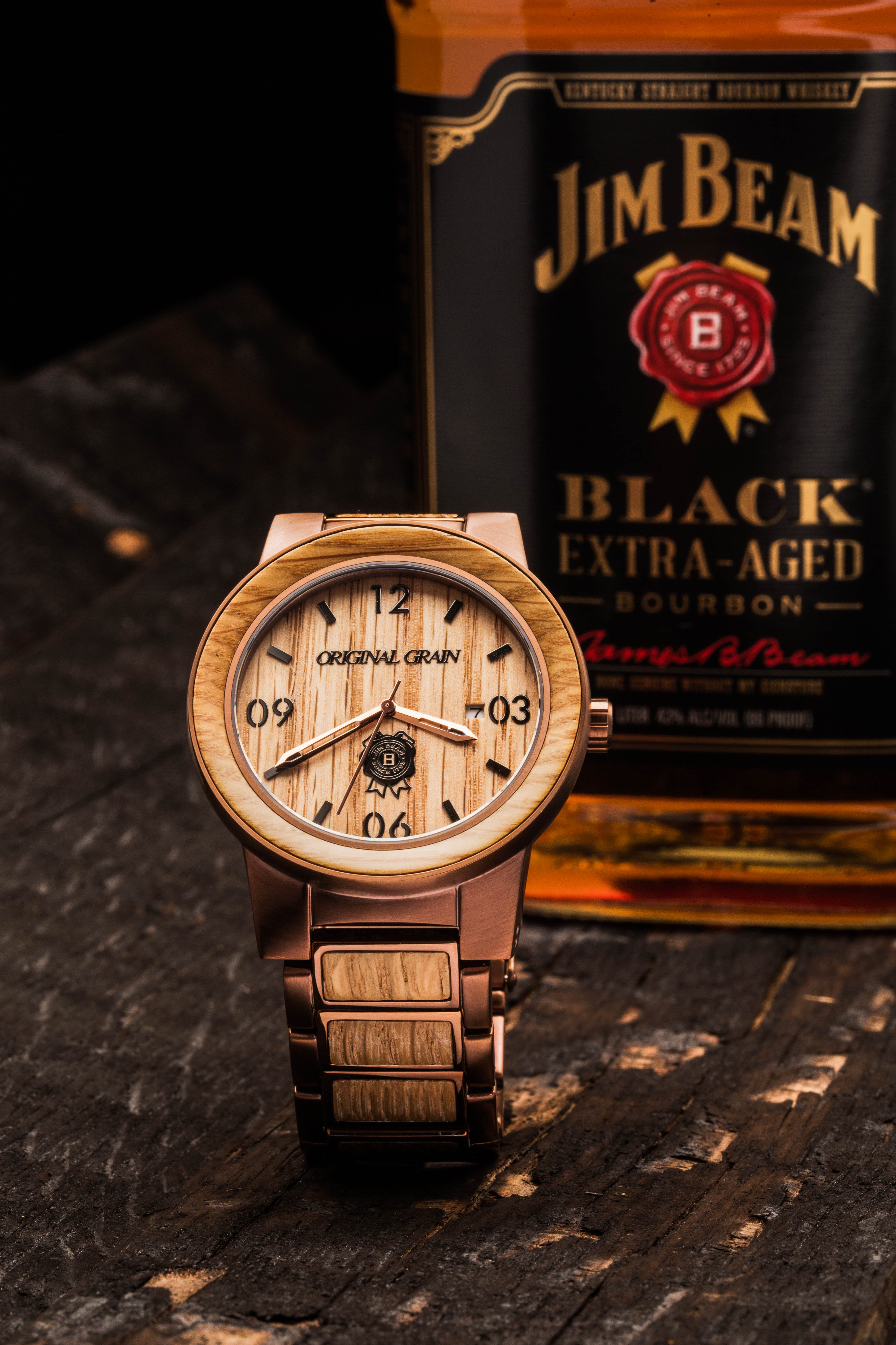 Original Grain Jim Beam A Must Have Watch For The Modern
