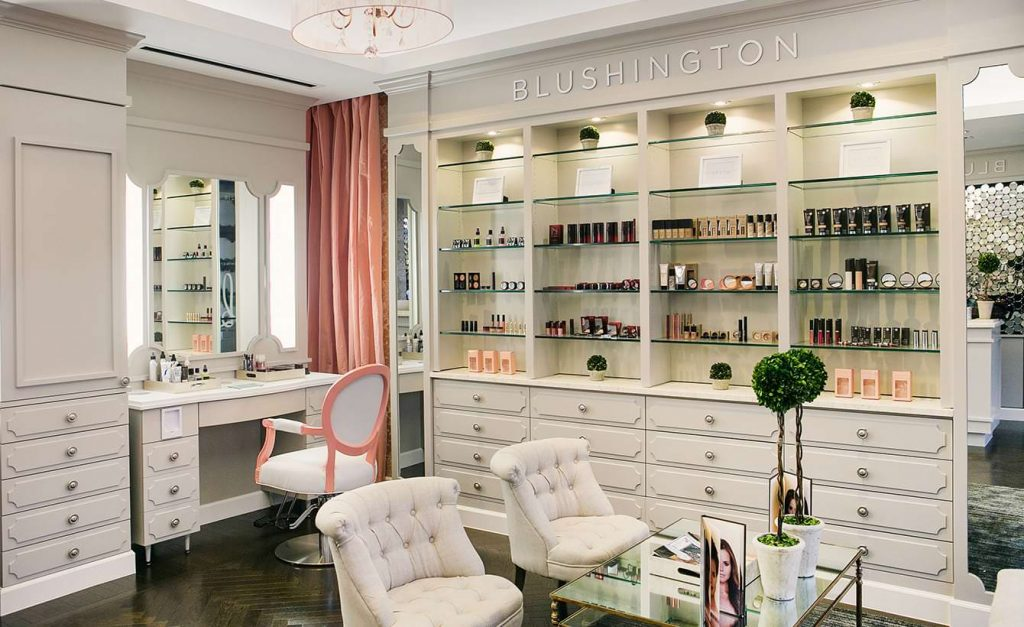 Have a spa day at Blushington Beauty & Makeup Lounge.