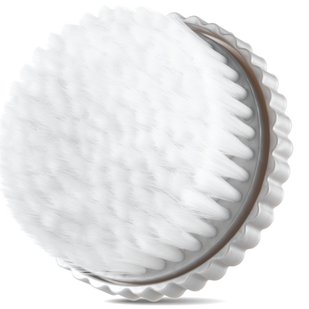 Bring the spa home with Clarisonic's Luxe Velvet Foam Body Brush Head.