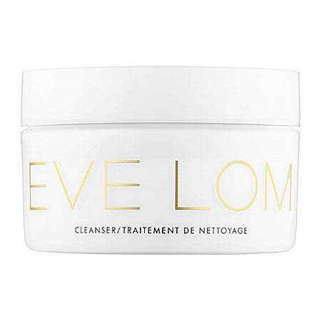 Bring the spa home with Eve Lom's Cleanser.