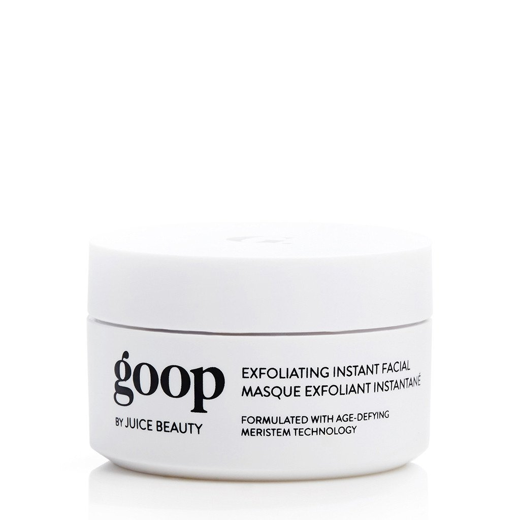 Bring the spa home with Goop's Exfoliating Instant Facial.