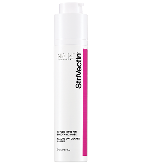 Bring the spa home with Strivectin's Oxygen Infusion Smoothing Mask.