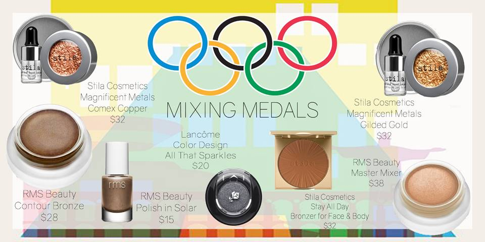 Gold, Silver and Bronze: Olympics Inspired Beauty