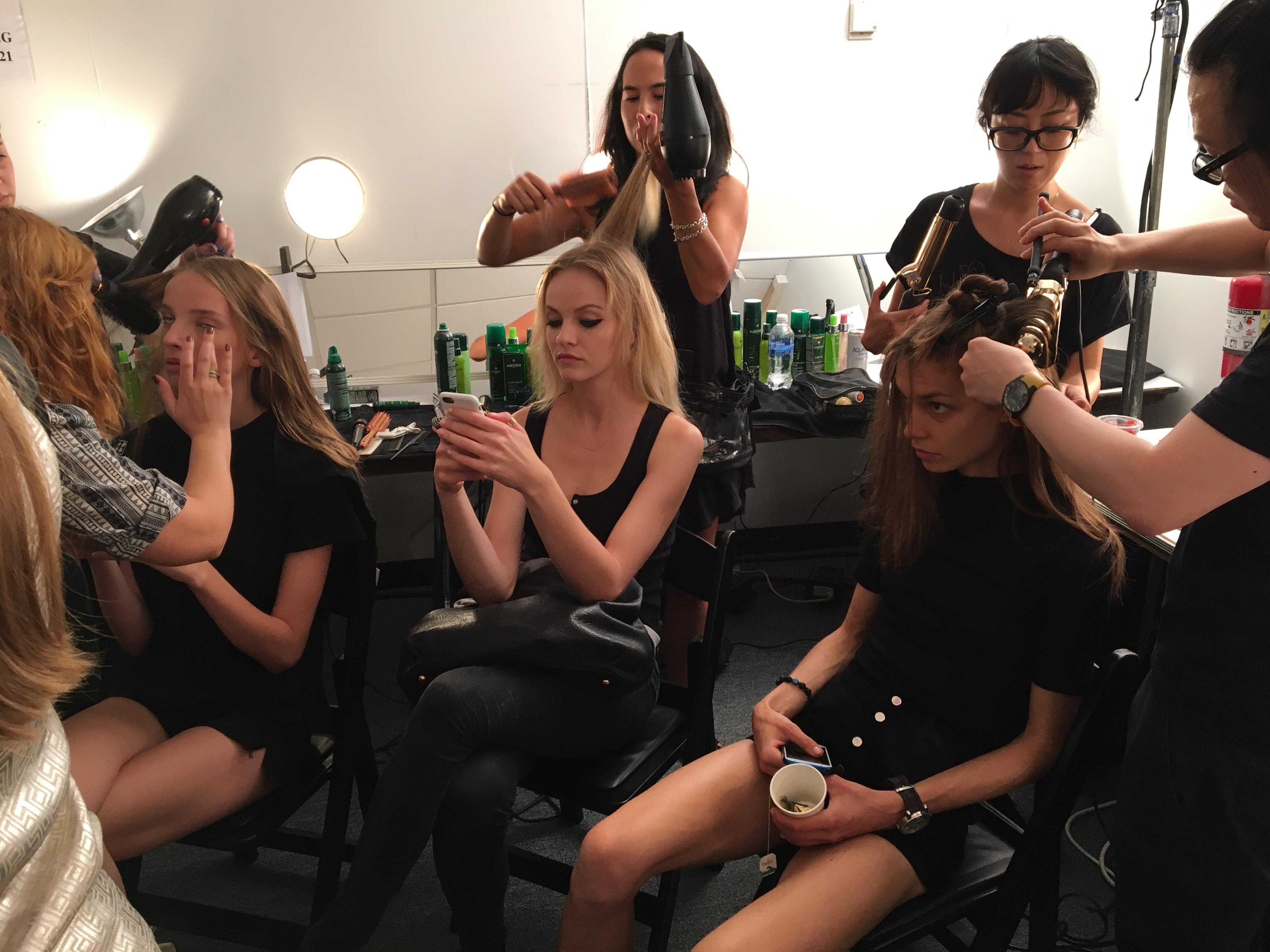 4 Things That Are Going On Backstage NYFW While You Enjoy The Show