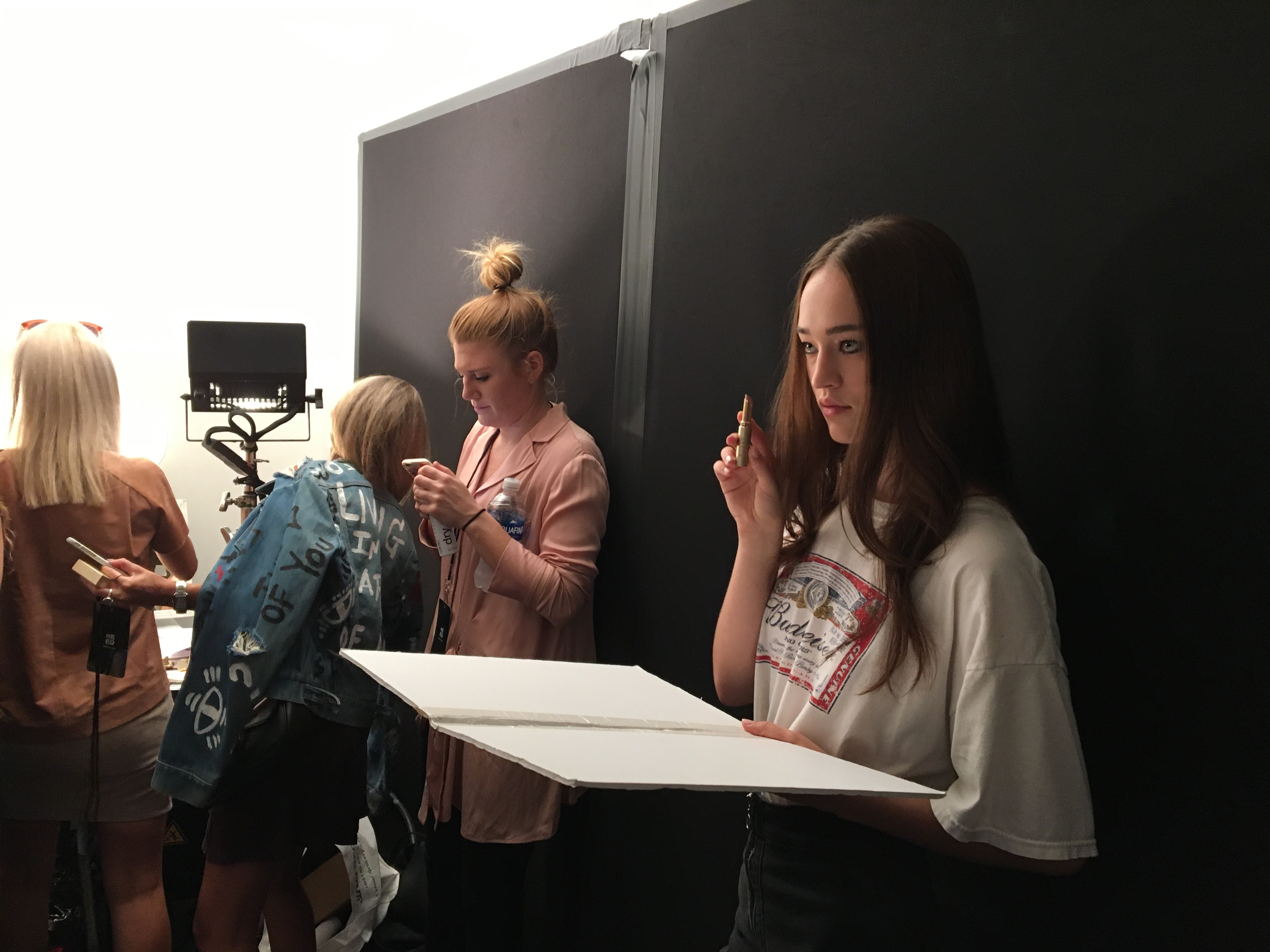 Backstage at Misha Collections NYFW and Sneak Peek at Stila Spring 2017!