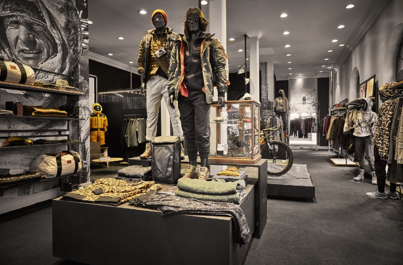 The North Face Urban Exploration Concept Shop | 701 Sansome St. San Francisco, CA (PRNewsFoto/The North Face)