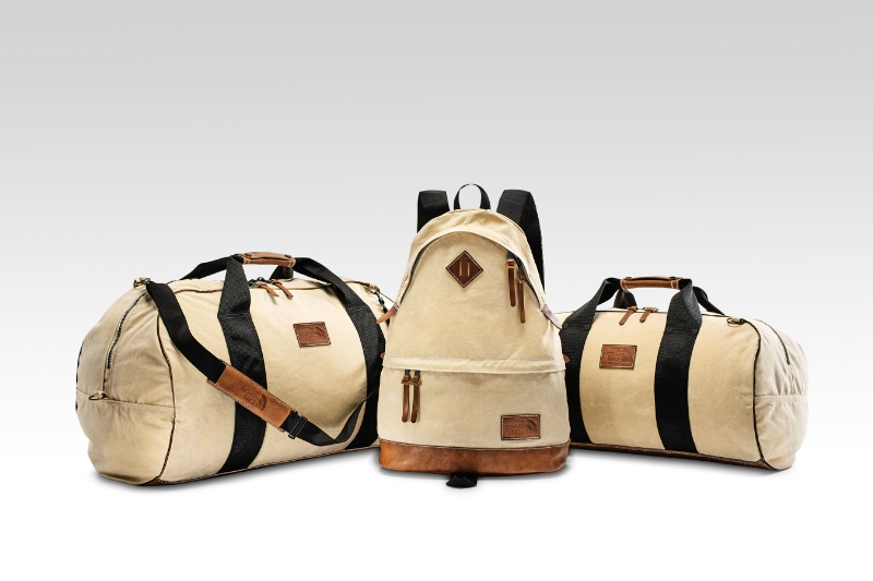 The North Face Urban Exploration Concept Shop will feature exclusive and limited edition product like the Original Daypacks and Soft Duffels reissue. '78 Duffel - Large ($300), '68 Daypack, '78 Duffel - Small ($250) (PRNewsFoto/The North Face)