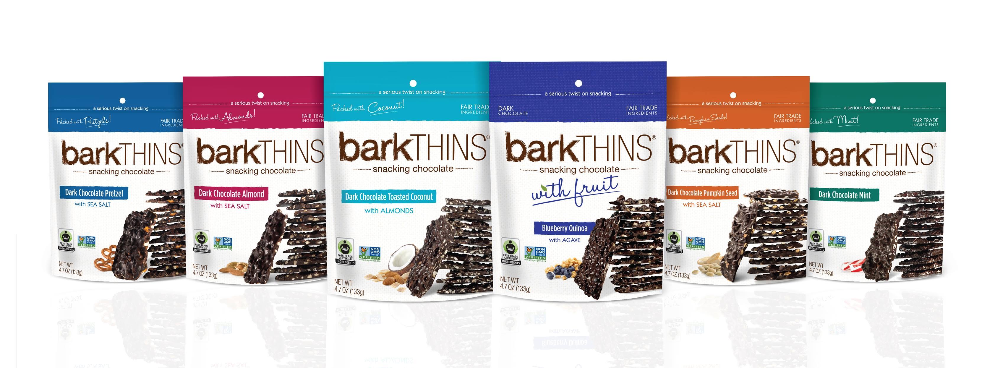 bark thins snacks
