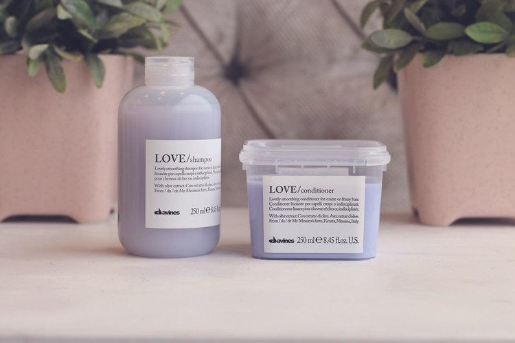 Beauty Report: Davines Love Line
