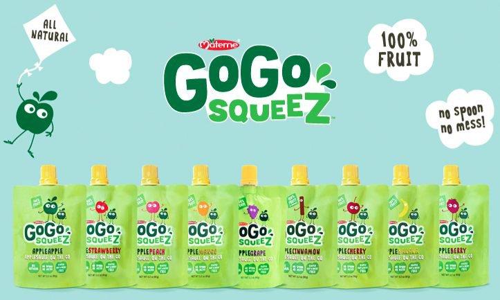 go-go-squeez snacks