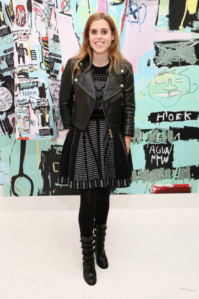NEW YORK, NY - NOVEMBER 02: Princess Beatrice attends the alice + olivia x Basquiat CFDA Capsule Collection launch party on November 2, 2016 in New York City. (Photo by Astrid Stawiarz/Getty Images for alice + olivia by Stacey Bendet)