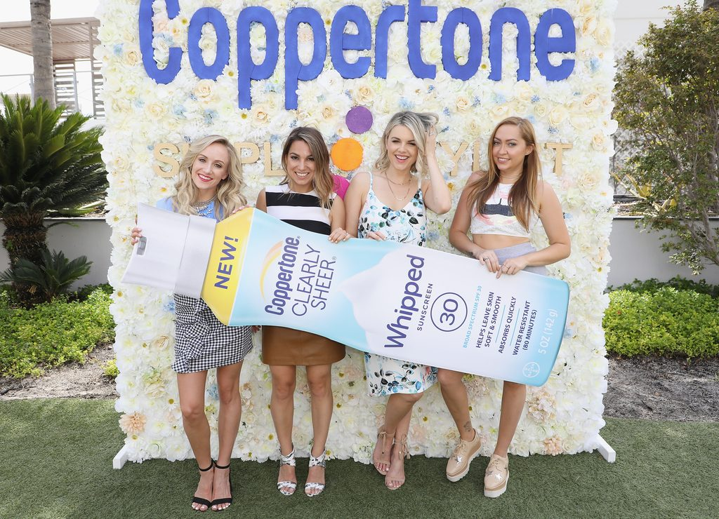 Simply Stylist + Coppertone Hosted Miami Pop-Up To Celebrate New Whipped Sunscreen