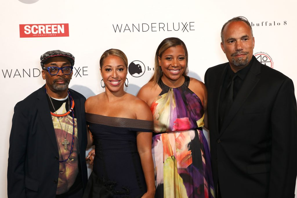 Spike Lee And Roger Guenveur Smith Honored at Wanderluxxe Gala