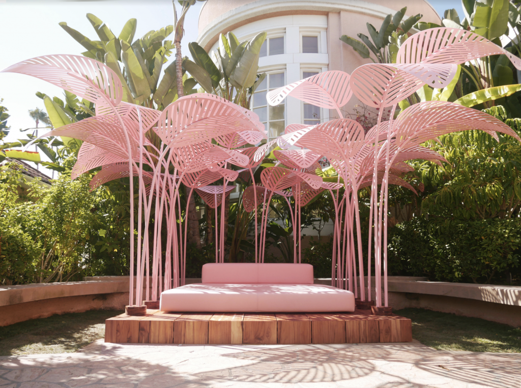 Parisian Artist and Designer Marc Ange Brings The Most Instagrammed Piece of  Milan Design Week To The Beverly Hills Hotel