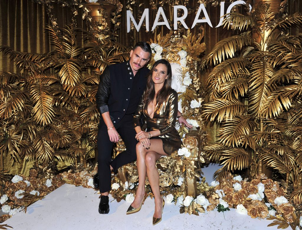 Alessandra Ambrosio Hosts The Launch of MARAJÓ Haircare in Beverly Hills