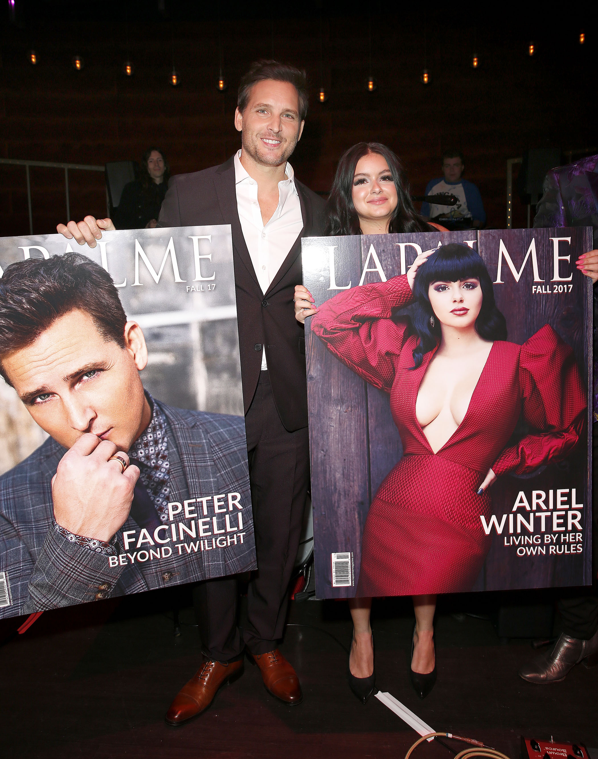 LAPALME Magazine Issue Launch Party Featuring Ariel Winter and Peter Facinelli