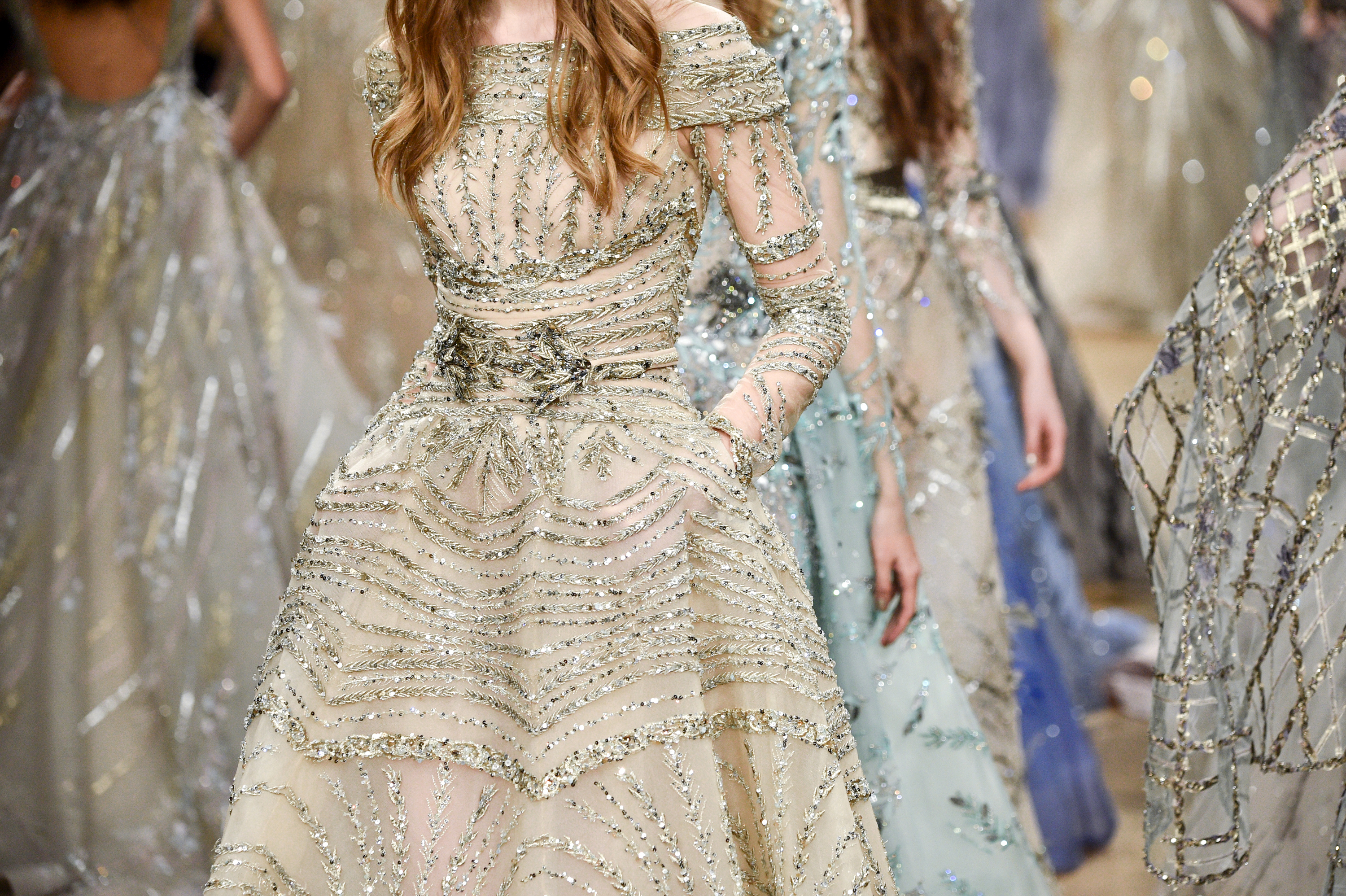 Ziad Nakad Couture Show Spring Summer 2018 Is What Our Princess Dreams Are Made Of