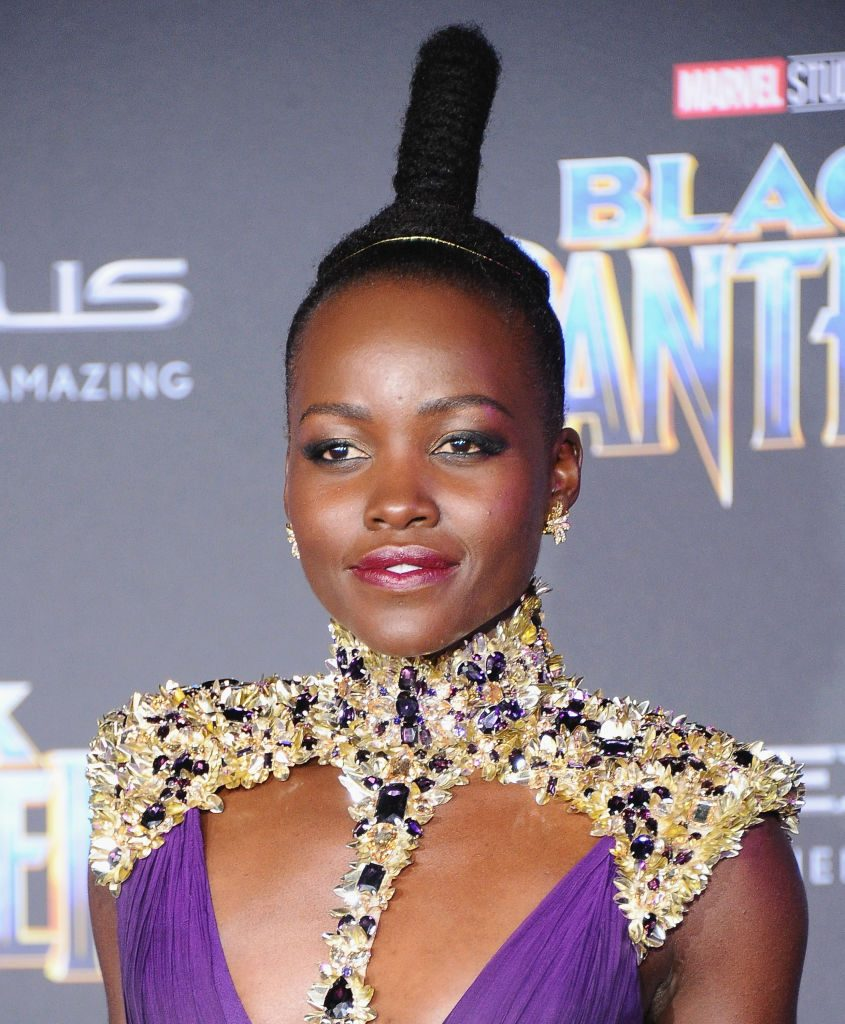 Exactly How to Get Lupita's Red Carpet Beauty Look from the Black Panther Premiere