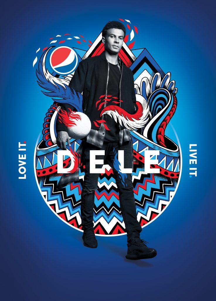 Pepsi Football 2018_Key Visual_Dele_Portrait_No Branding