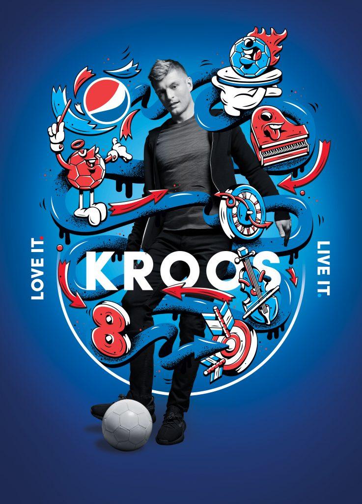 Pepsi Football 2018_Key Visual_Kroos_Portrait_No Branding
