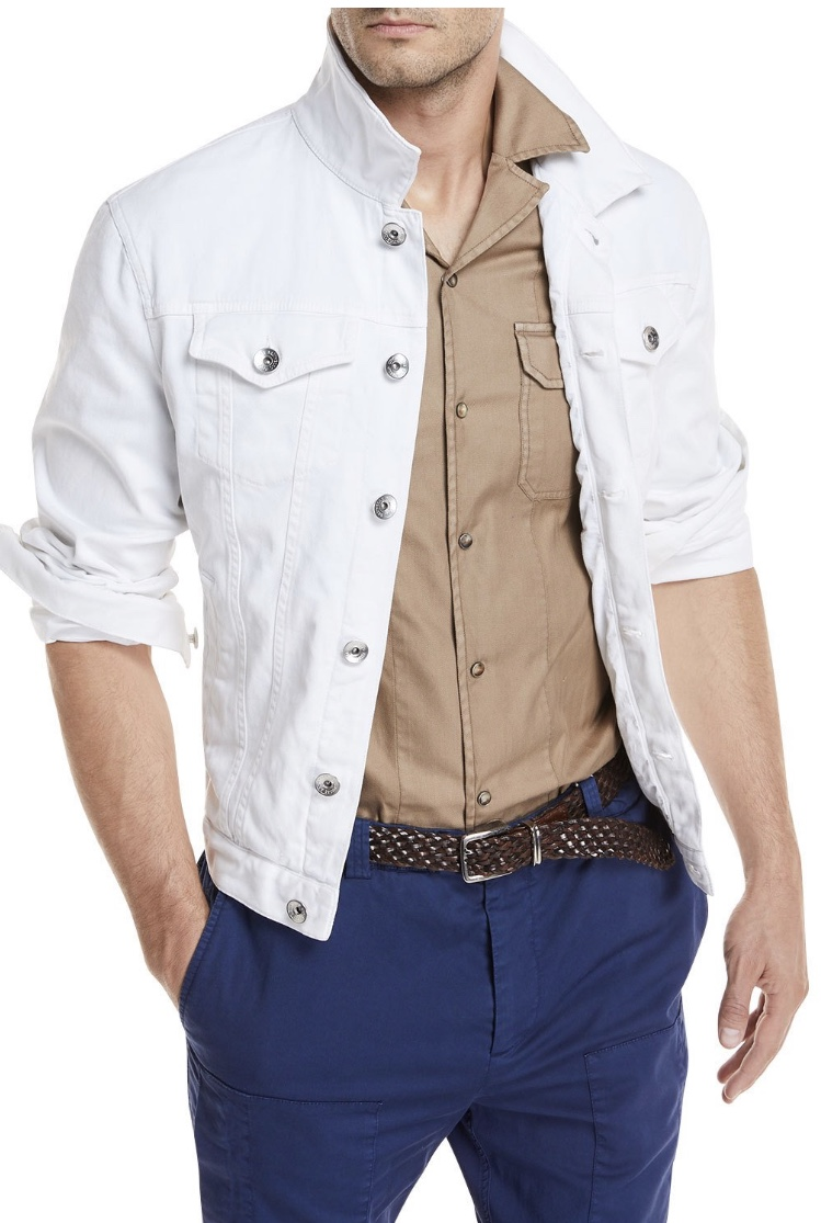 Brunello Cucinelli: The Classic Jean Jacket