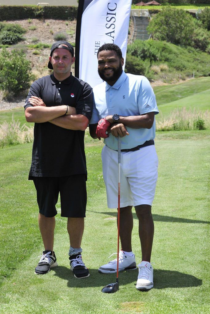 Anthony Anderson plays in The Golf Classic