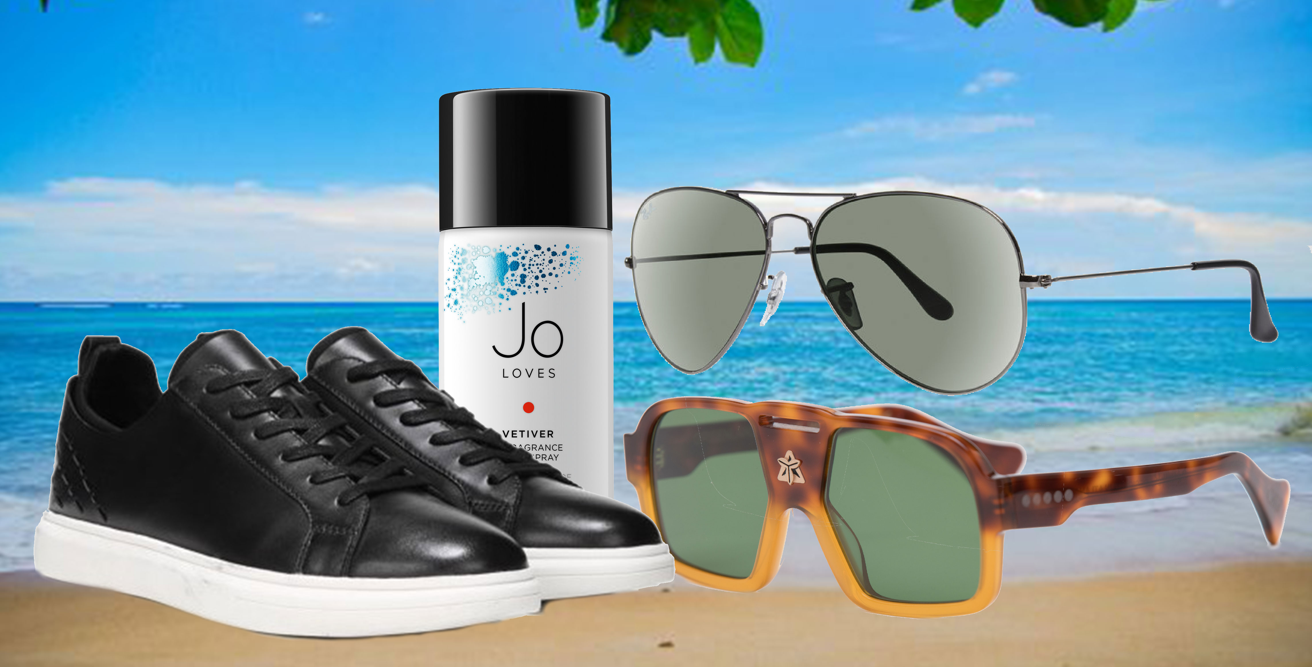 Sunglasses, Sneakers & The Perfect  Summer Scent