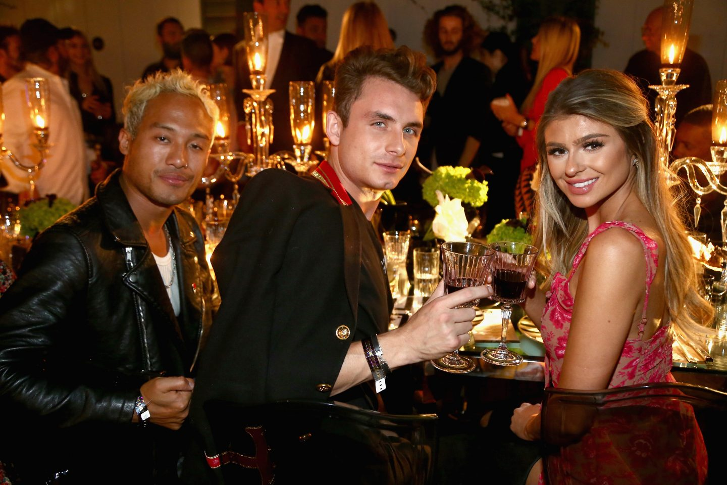 "Taste of sbe"" Grand Dinner at Skybar at Mondrian Los Angeles with Rolling Stone  to benefit Make A Wish"