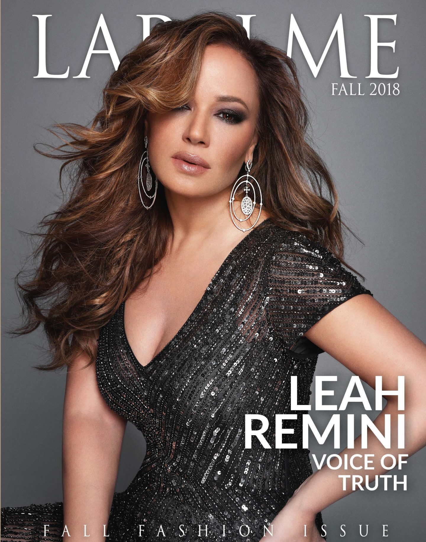 Leah Remini's Exclusive Photo Shoot with Lapalme Magazine