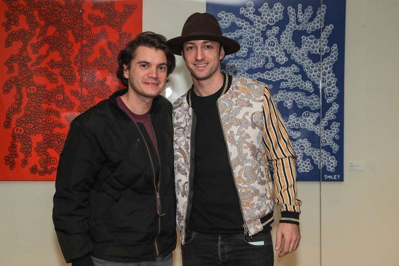 Emile Hirsch hosts Artist Matt Smiley's Magic Box Exhibition Launch at Mondrian