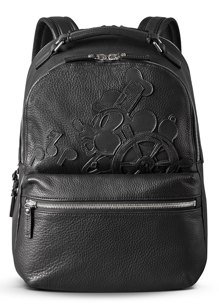 Shinola Limited Edition Steamboat Willie Mickey Runwell Backpack