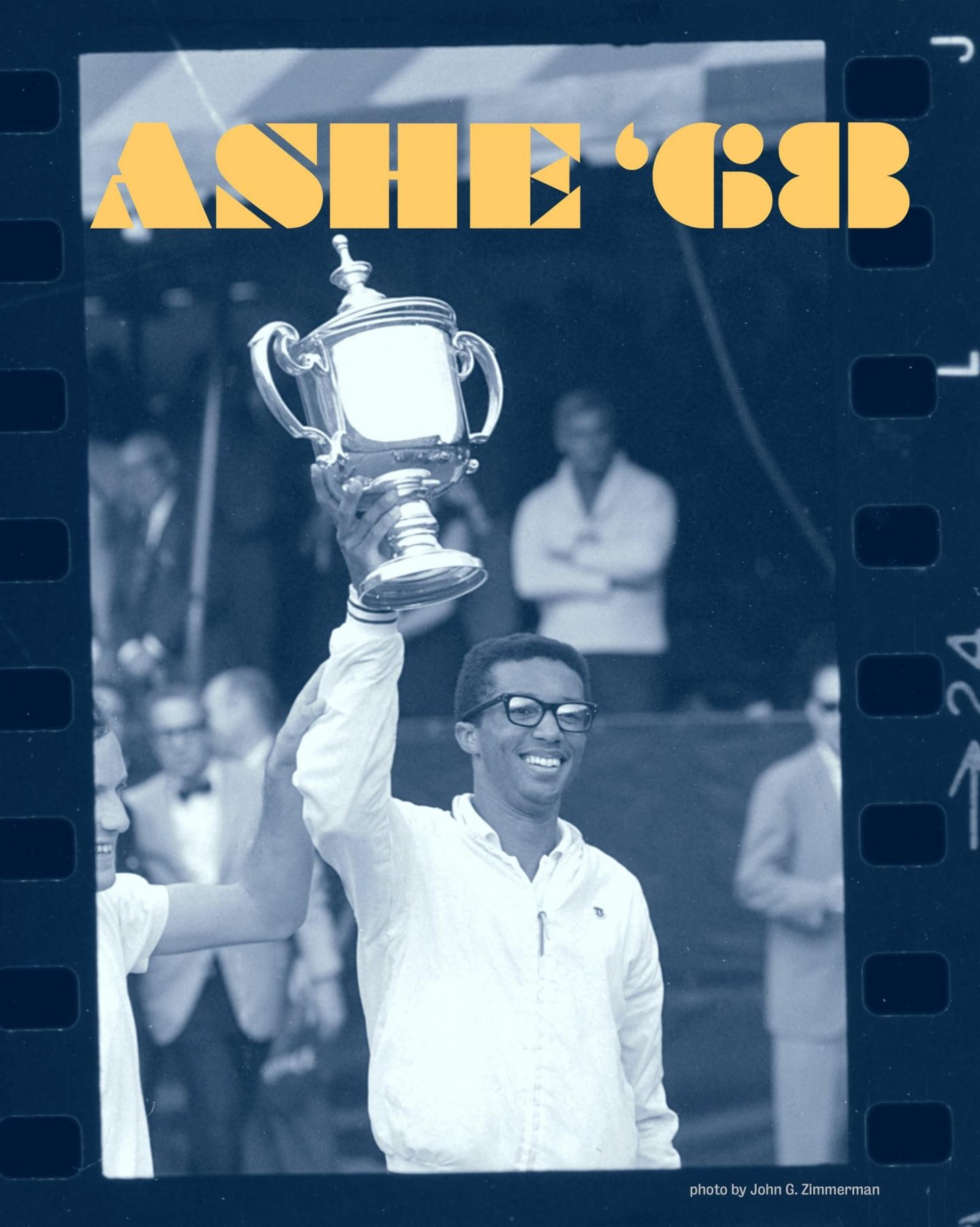 Virtual Reality Film Brings Arthur Ashe's 1968 Win To Life