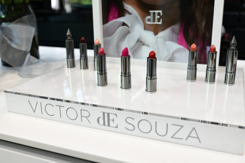 Renowned Couture Designer Victor dE Souza Launches Luxury Lipstick Line