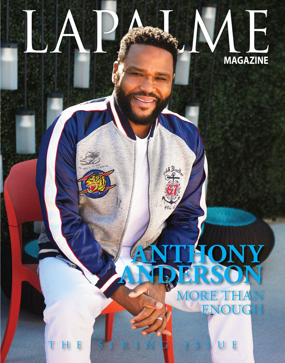 ANTHONY ANDERSON – MORE THAN ENOUGH