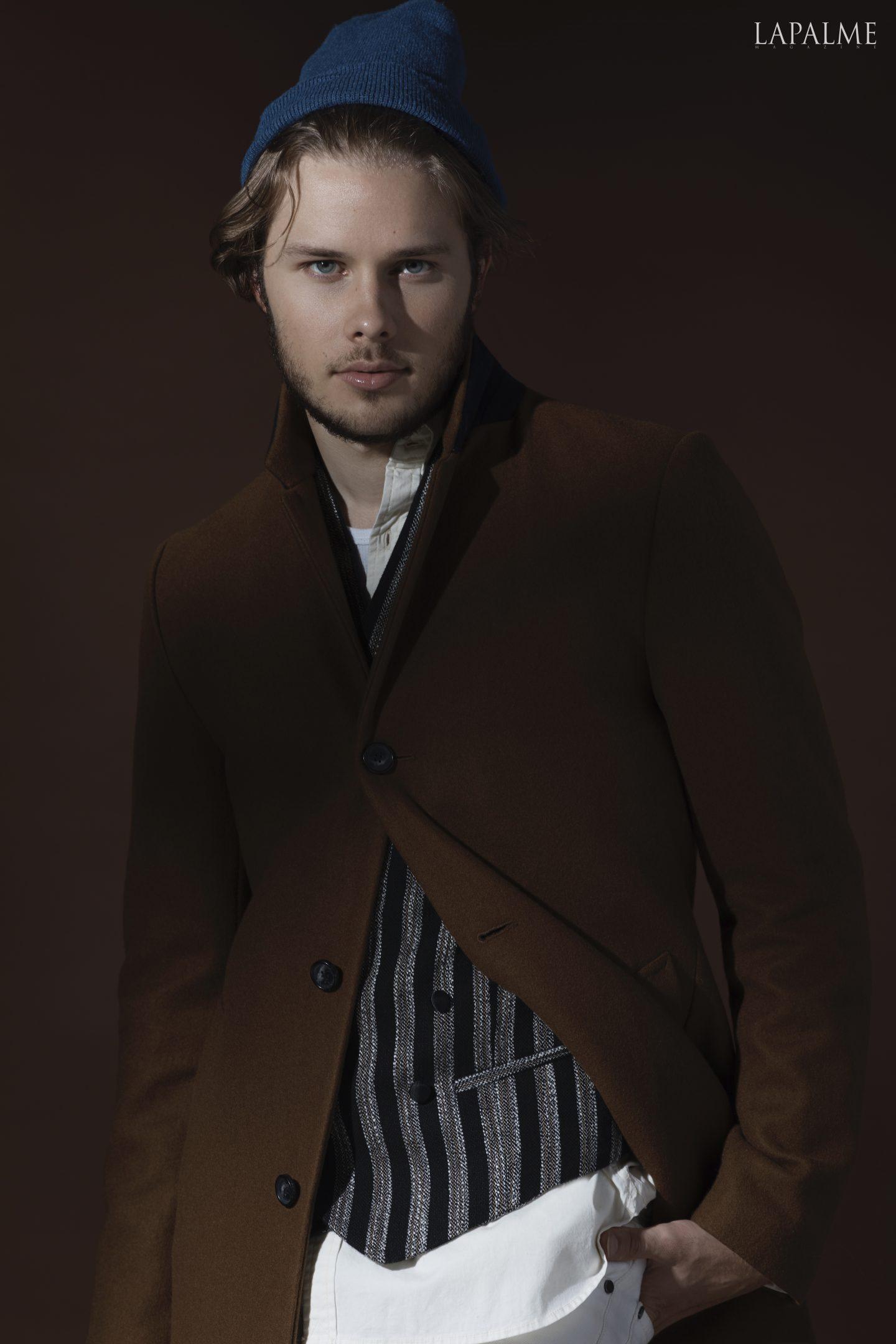 Beanie: H&M Shirt: Lucky Brand Vest: Joseph Abboud SS19 Jacket: Lucky Brand Pants: House of Holland