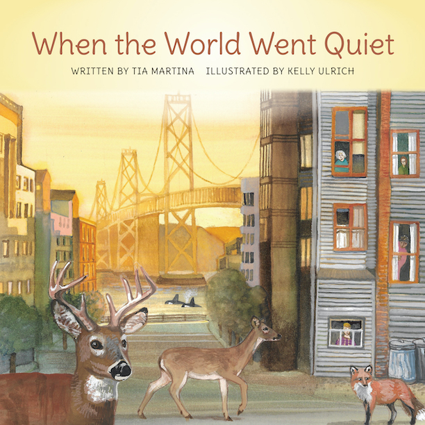 NEW CHILDREN'S BOOK HIGHLIGHTS STORIES OF ANIMALS RETURNING TO 'HUMAN SPACES' DURING GLOBAL LOCKDOWN