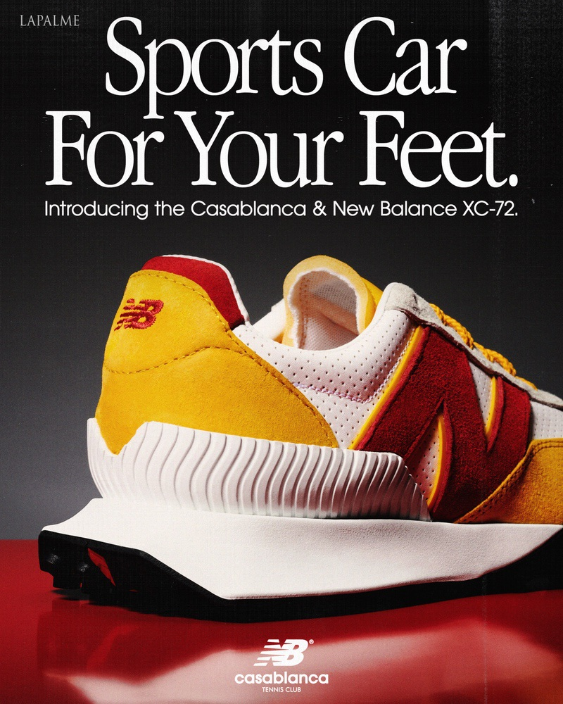 """XC-72 """" THE SPORTS CAR FOR YOUR FEET"""""""